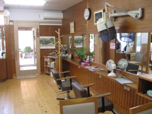 岡山の美容室・ビューティーわたなべの外観