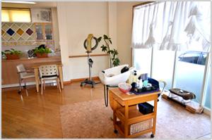 岡山の美容室・加羅の外観